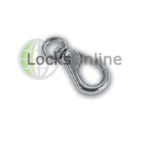 Main photo of Ring Type Snap Shackles in Brass or Chromium Plated
