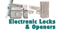 Electric Door Locks & Door Openers Image