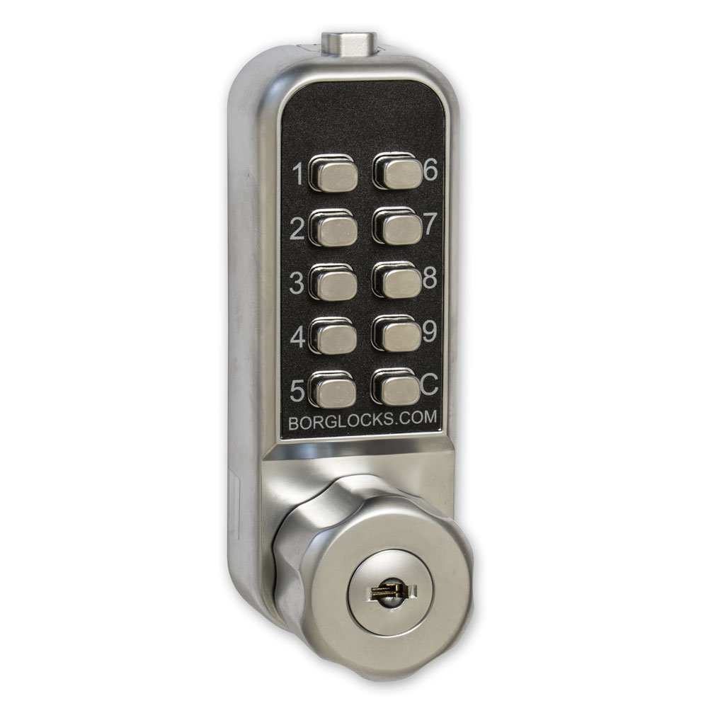 Home Security Borg Mini Combination Lock for Cabinets & Lockers