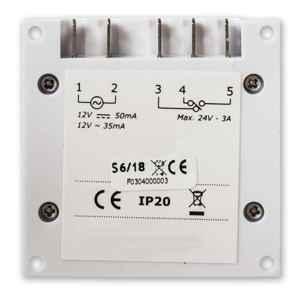 LocksOnline Advanced 7 Day Programmable Timeclock Rear