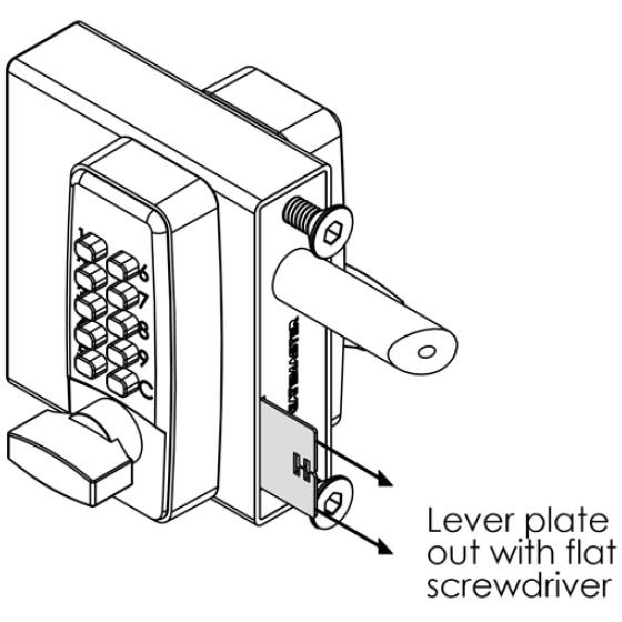 LocksOnline Gatemaster Combination Code Change Diagram