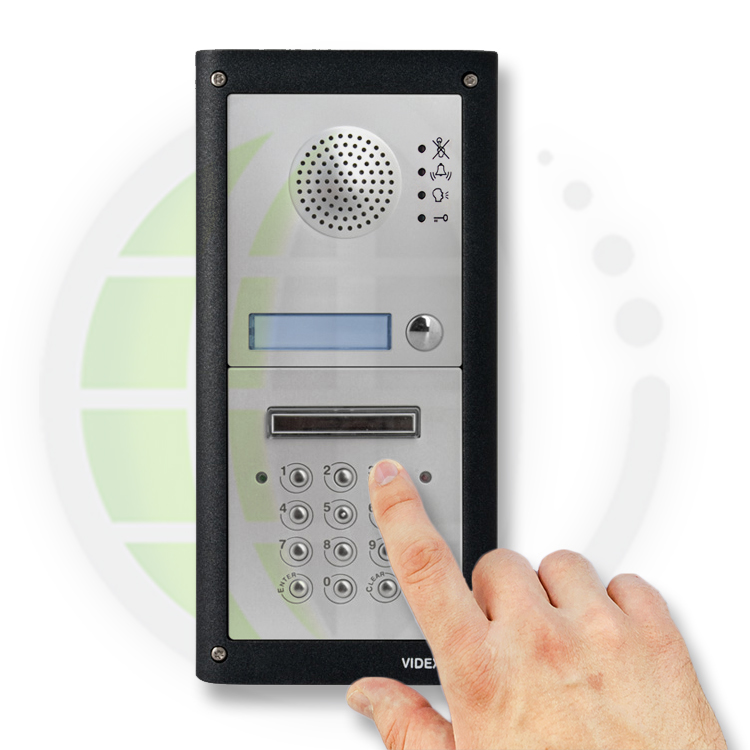 LocksOnline Videx 4K 4000 Series Professional GSM Audio Intercom Prox Keypad Entry