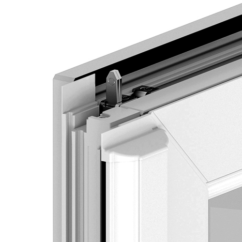 uPVC Double Door Middle Section