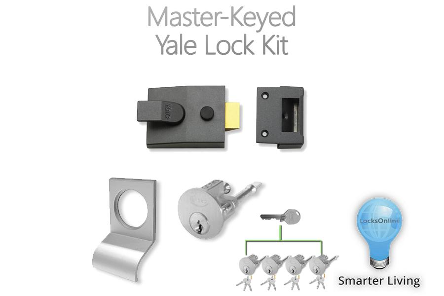 LocksOnline's Master-Keyed Yale Lock Kit