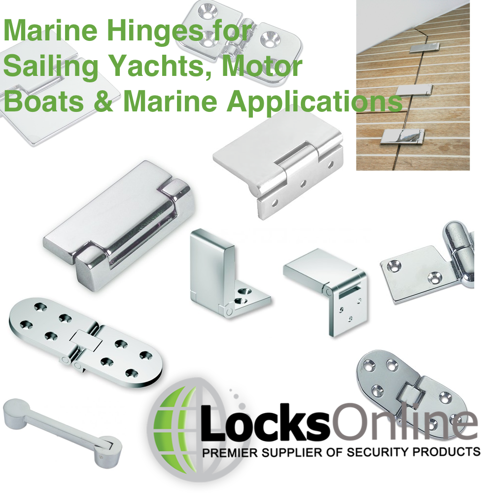 Marine Hinges for Yachts and Motor Boats