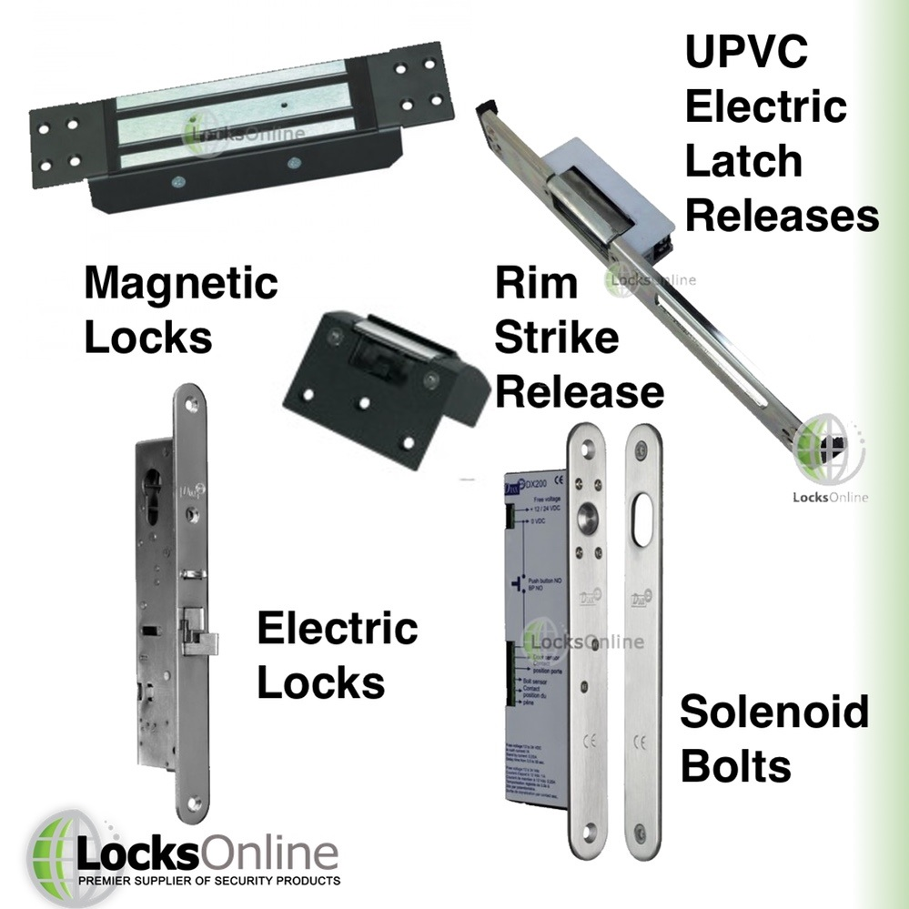 Electronic locking devices