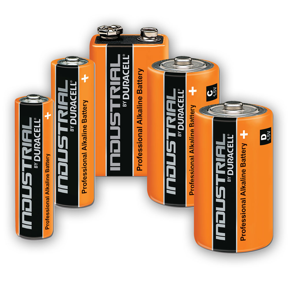 Compare retail prices of Duracell Industrial Grade Batteries to get the best deal online