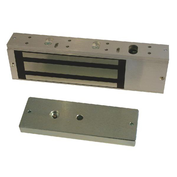 Image of 10020 Monitored Standard Series Electro Magnetic Lock (maglock) Double (Holding Force 510kg / 1120lbs Per Door)