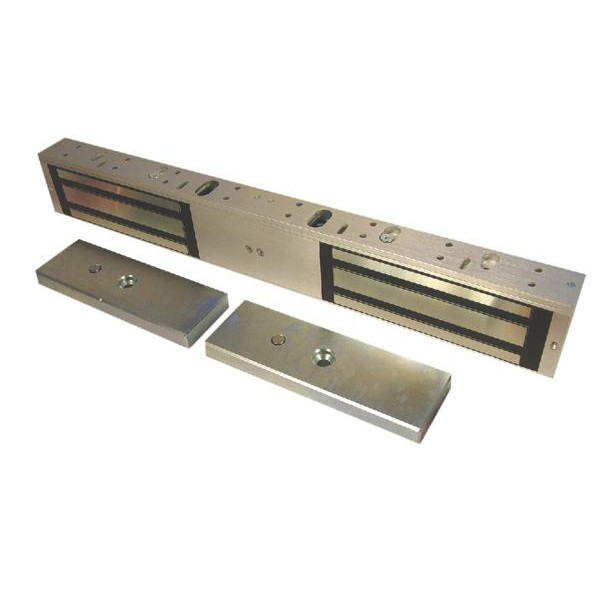Image of 10040 Monitored Standard Series Electro Magnetic Lock (maglock) Double (510kg Holding Force per Door)