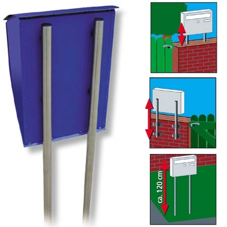 Compare prices for Universal 150 Postbox stand