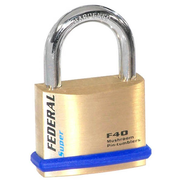 Compare prices for Federal 40F Solid Brass Padlocks