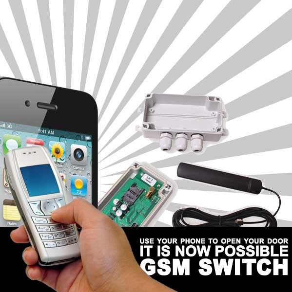Image of GSM Mobile phone Door Entry System