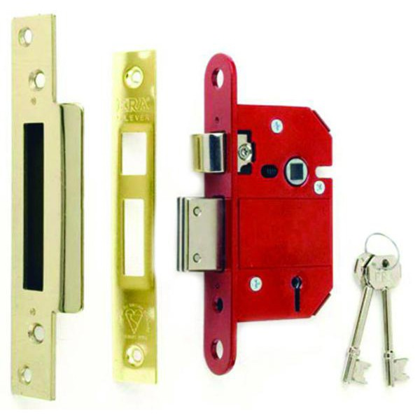 Compare prices for British Standard BS3621 ERA Fortress Front Door Sash Lock