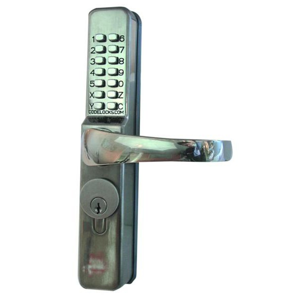 Compare prices for Codelock 0460 Narrow Style Push Button Lock