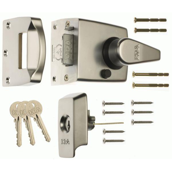 Compare prices for ERA 1730 BS8621 2007 Auto Deadlocking Escape Nightlatch