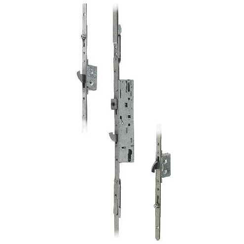 Yale Doormaster Professional Multipoint for Timber Doors - 3 Hooks, 2 Adjustable Rollers