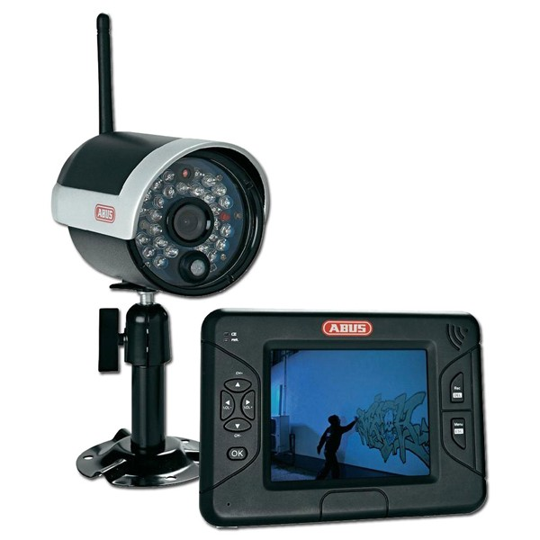 Compare prices for ABUS TVAC15000 Wireless IR Outdoor 3.5 Inch Screen CCTV Kit