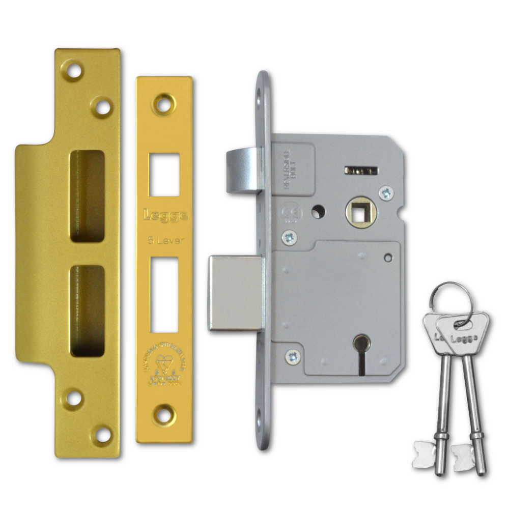 Compare prices for Legge Budget BS3621 5-Lever Sashlock