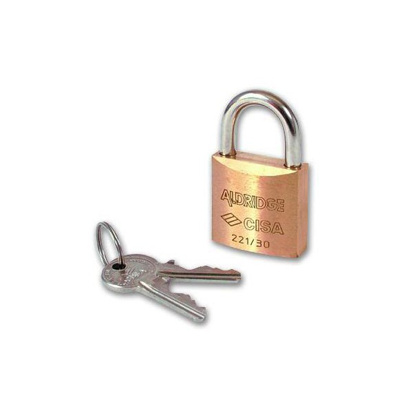 Compare prices with Phone Retailers Comaprison to buy a Cisa 22110 Brass Body Padlock