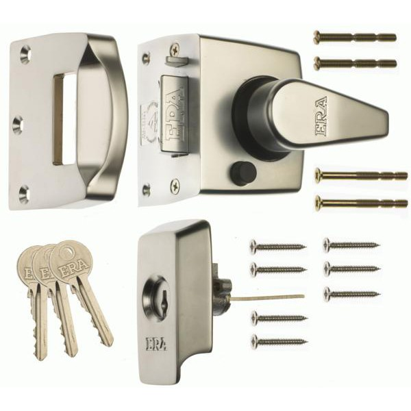 Compare prices for ERA 1530 BS8621 2007 Auto Deadlocking Escape Narrow Style Nightlatch