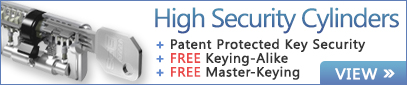 Free Keying on High Security EPS Cylinders