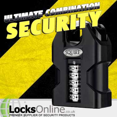 Squire Heavy Duty Combination Padlocks