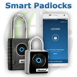 Bluetooth padlocks for smartphones