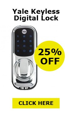 25% off Yale Keyless Digilock