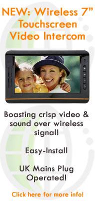 7 Inch Touchscreen Wireless Video Door Intercom