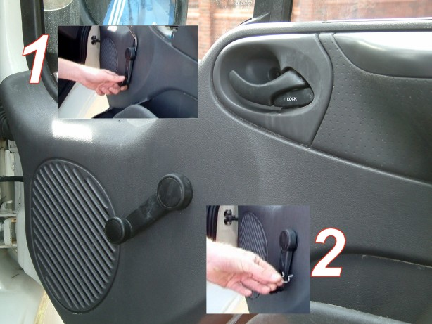 Armaplate Fitting Guide Ford Transit Front Doors Locks